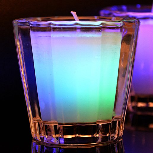 Color-Changing Scented Candle